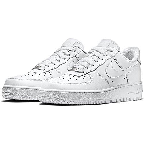 Nike Zapatillas WMNS Air Force 1 '07, color Blanco, talla 41 EU