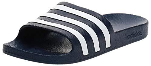Adidas Adilette Aqua Zapatos de playa y piscina Unisex adulto, Azul (Navy F35542), 44 1/2 EU (10 UK)
