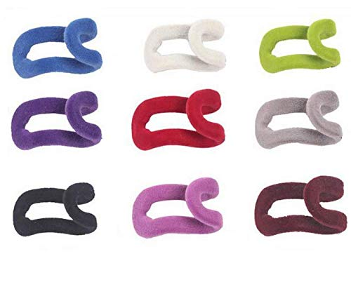 WOIWO 10Pcs Cascading Hanger Hooks Connector for Stack ClothesSpace-Saving Attachment Huggable Style Hangers