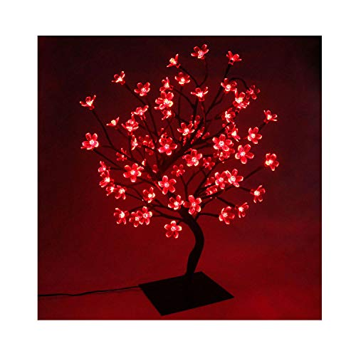 Cherry Blossom Bonsai Stylt Tree Lamp 45cm/60cm, .