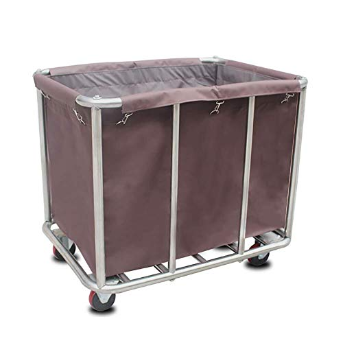 CFSAFAA Wagen Arbeit Home Cart Tool Mobile Leinen Recycling Auto for Hotel/Lobby Abnehmbarer...