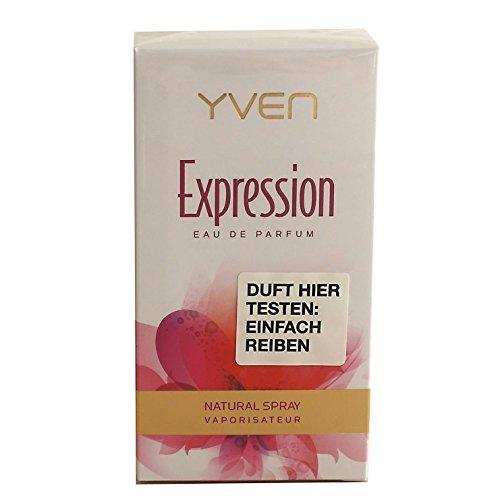2x Yven Woman expression Eau de Parfum 2x 50ml Spray EdP Vaporisator