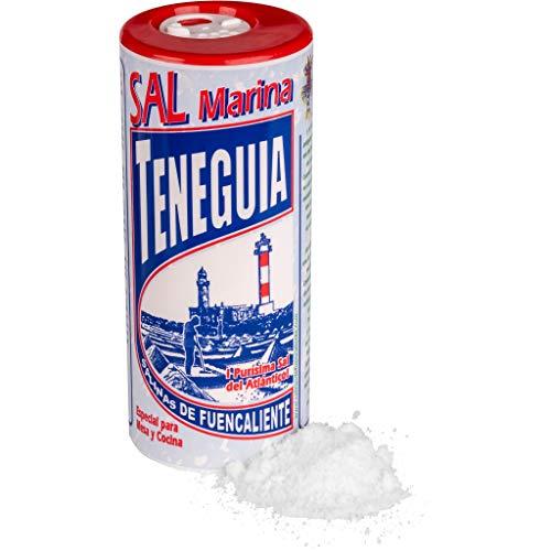 LOUXA Sal Marina Teneguia Meersalz Salzstreuer aus La Palma 100% ökologisch 500 g (17,98 € / kg)