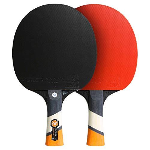Racchette Leggeri di Alta qualit/à Badminton Sport con Racchetta Fitness Gioco Racket Sia su Elastico Racchetta da Badminton Offensiva e difensiva
