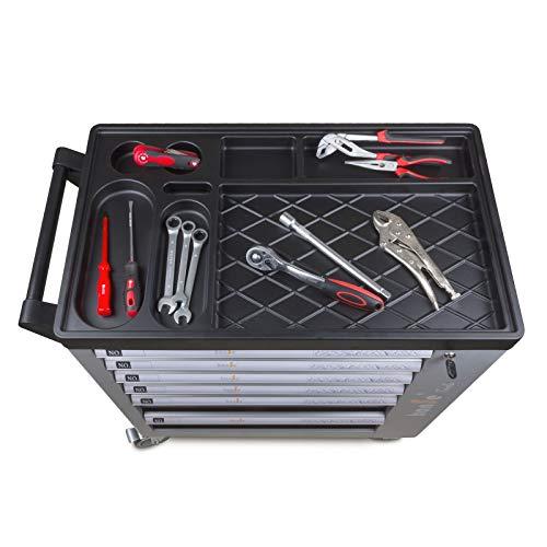 hanSe® Werkstattwagen gefüllt 245-teilig Werkzeug Werkstatt - 4
