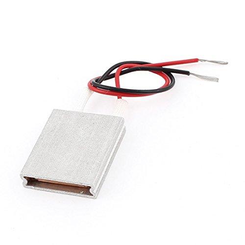 25x20x5mm 5V 50C Aluminio PTC Calefactora Termostato de Temperatura Constante