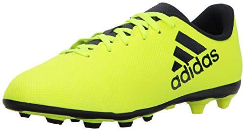 adidas Boys' X 17.4 FxG J Soccer Shoe, Solar Yellow Legend Ink, 12.5 Medium US Little Kid