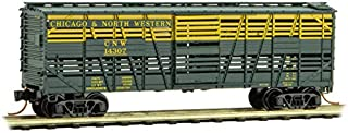 Micro-Trains MTL N-Scale 40' Despatch Stock Car Chicago North Western/CNW #14307