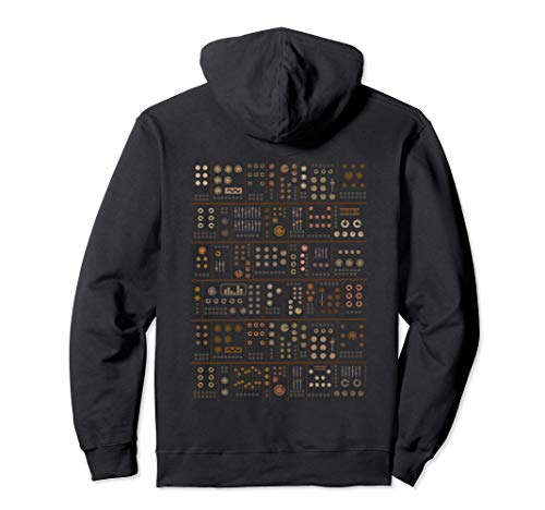 Modular Synthesizer Musiker Pullover Hoodie