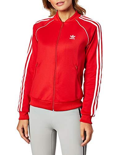 Adidas SST TT Damen Sweatshirt,rot (Scharlachrot), 38