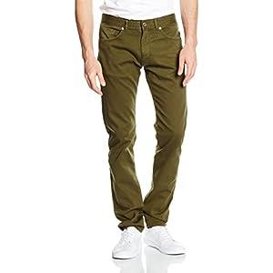 Cortefiel Vaquero, Pantalones para Hombre, Verde (Gama ...
