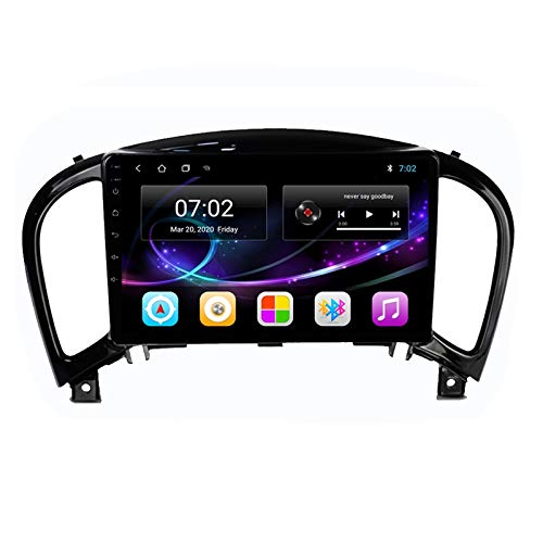 2 DIN Car Stereo Radio De Coche De 9 Pulgadas HD Pantalla Táctil Bluetooth Manos Libres Radio Auto FM/USB/AUX IN con Cámara De Visión Trasera, para Nissan Juke 2010-2014,Octa Core,4G WiFi 2+32