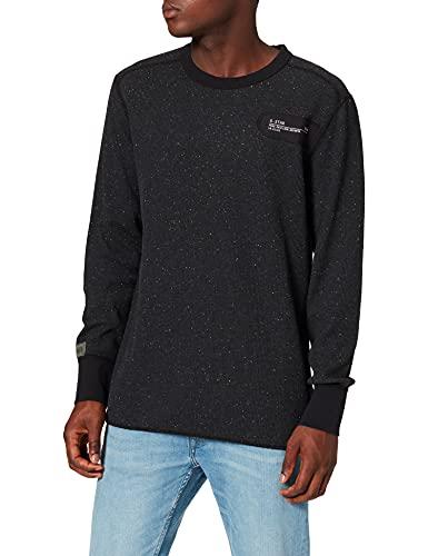 G-STAR RAW D19912 Camiseta, Noir Htr C791-c530, M para Hombre
