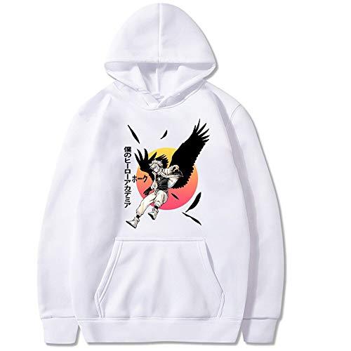 Sudadera unisex No Boku My Hero Academia Cosplay Disfraz Toga Himiko manga larga impresa MHA sudadera con bolsillo canguro