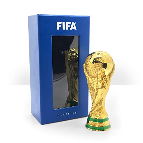 FIFA Classics World Cup Trophy 100mm in 3D Réplica 100 mm, Unisex Adulto, Dorado
