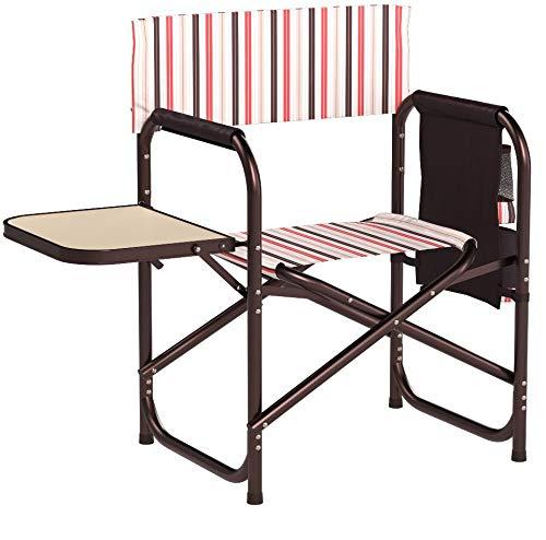 Picnic Time Coca-Cola Portable Folding Sports Chair, Moka