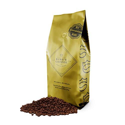 KING'S COFFEE – SPECIAL ROAST | 1kg | Premium Barista Kaffeebohnen | feinster Arabica-Robusta Blend | kleine Chargen-Röstung aus Italien | ganze Espresso-Bohnen für Vollautomaten & Siebträger