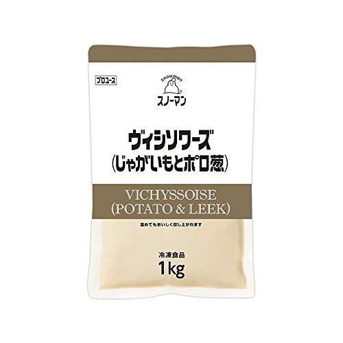 【冷凍】 キューピー スノーマン ヴィシソワーズ (じゃがいも と ポロ葱) 1kg 業務用 スープ