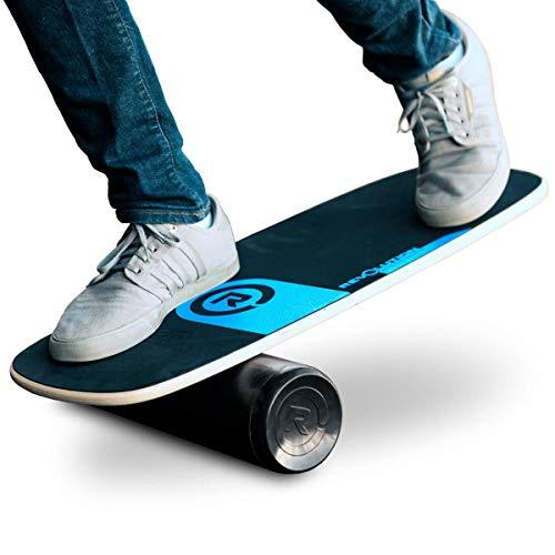 Erweiterte Balance Board für Übungs-Trainings-Board Übung für Fitness mit Roll- Brett Balancing für Surf, Ski, Snowboard und Skateboard