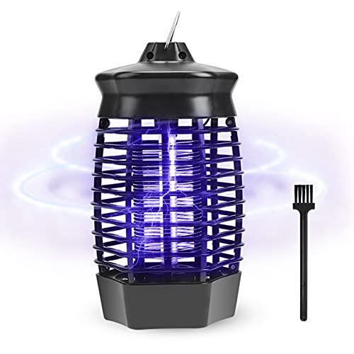 Qxmcov Lampe Anti Moustique Électrique, 4W UV Piège à Mousti