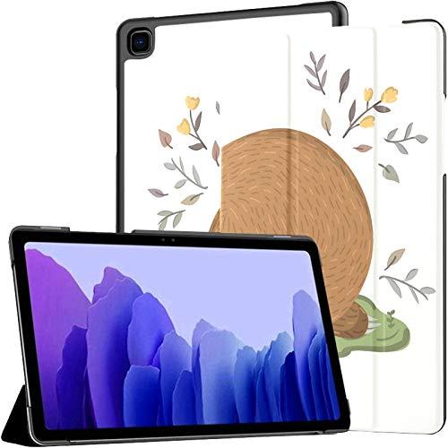 Sweet Cute Animal Populai Lazy Sloths Funda Samsung Tab A para Galaxy Tab A7 Funda para Tableta Samsung de 10,4 Pulgadas Funda Galaxy Tab A7 con activación/Reposo automático Ajuste Galaxy Tab A7 10