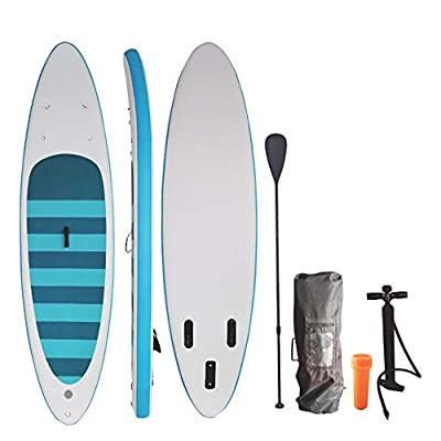 ZONEMEL Stand Up Paddle Board Inflatable SUP (6 Inches Thick), iSUP Package with All Accessories