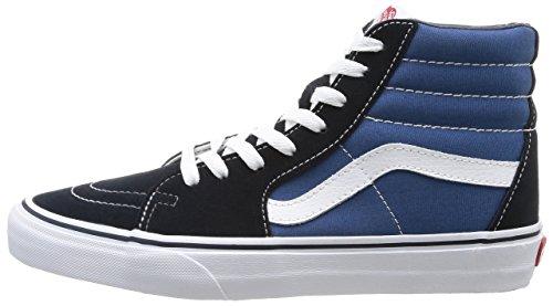Vans U Sk8 Hi - Baskets Mode Mixte Adulte - Bleu (Navy) - 40.5 EU (Taille Fabricant : 8 US)