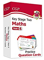 New KS2 Maths Practice Question Cards - Year 6