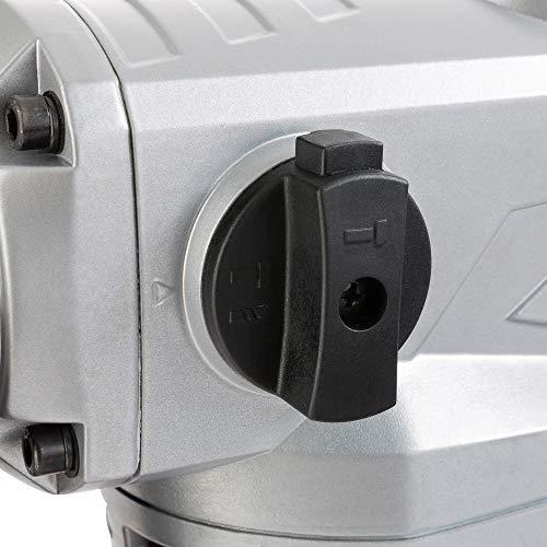 Arebos Marteau perforateur pneumatique - SDS - 1500 W - piquer - avec accessoires et coffret de transport