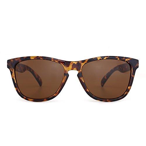 Gafas de Sol Peso Ligero Original Para Homber Mujer UV400 Marco Leopardo