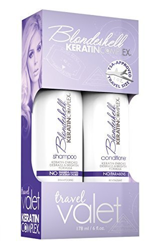 Keratin Blondeshell Keratin Complex Travel Valet Kit for Unisex by Keratin