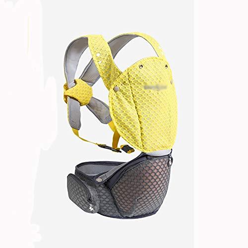 VDSON Infantino Classic Carrier Sécurité-bébé ventral Retour Transporteur for Nouveau-né à Tout-Petits (Color : Yellow)