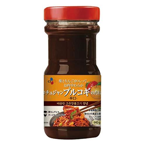 CJジャパン)コチュジャンプルコギのたれ辛口 840g