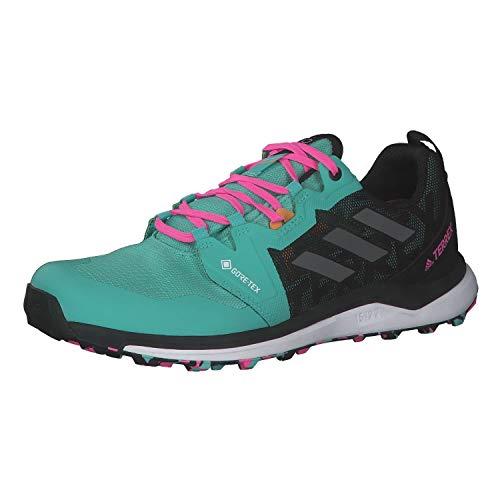 adidas Terrex Agravic GTX, Zapatillas de Trail Running Hombre, MENACI/Gricua/ROSCHI, 41 1/3 EU