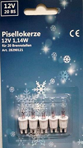 Ersatzbirnen Pisello für 20-er Mini-Lichterkette