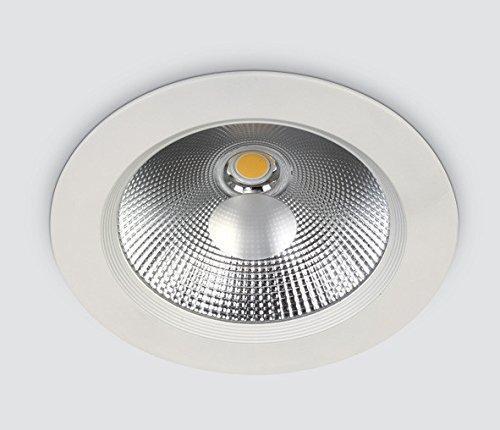 COB LED Downlight Rond Blanc 20 W Aluminium IP20