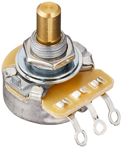 Allparts EP-0885-000 CTS Potentiometer (Poti, 250K, logarythmisch, glatte Achse)