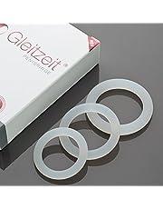 Anillos para el pene PREMIUM Gleitzeit Anillos para el pene de silicona médica para aumentar la potencia