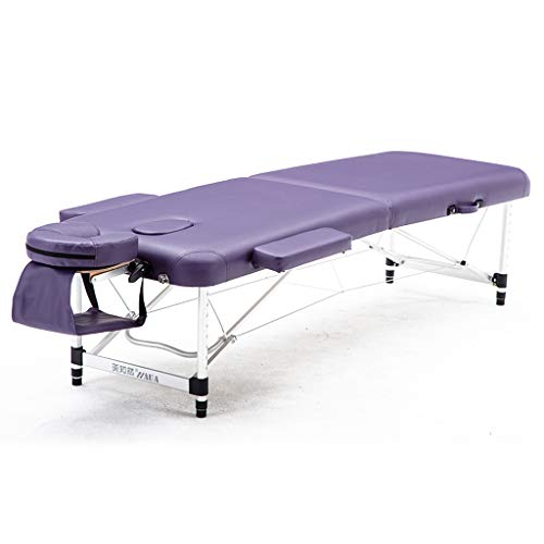Massage bed Draagbaar Spa Bed Verstelbare Hoogte Salon Bed 73in Lange Pu2 Vouwen Met Koffer Tattoo Bed