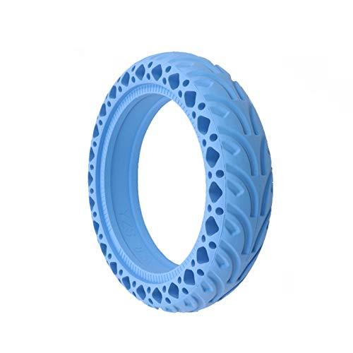 Heritan 8.5 'Scooter eléctrico Honeycomb Amortiguador Amortiguador Neumático de amortiguación de caucho duradero Neumático sólido para Mijia M365 (azul)