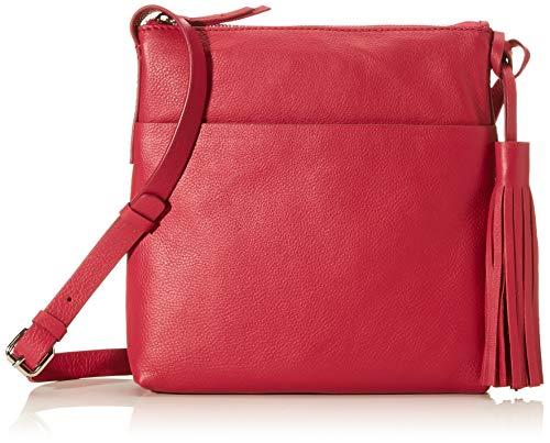 Clarks Topsham Shine - Bolso bandolera para mujer (1 x 1 cm), color Rosa, talla 1x1x1 cm (B x H x T)