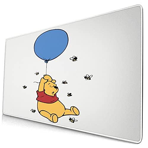 Win-nie The Pooh - Alfombrilla de ratón para escritorio (goma antideslizante, 40,1 x 74,9 cm)