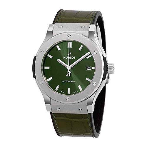 Hublot 511.NX.8970.LR - Reloj de Pulsera (45 mm), Color Verde