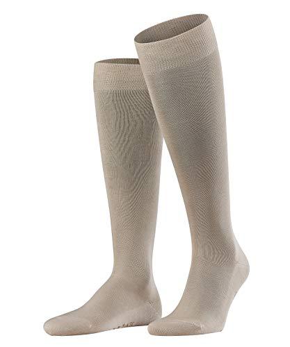 FALKE Herren Kniestrümpfe Tiago - 95% Baumwolle, 1 Paar, Beige (Nature 4000), Größe: 43-44