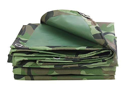 Bâche robuste résistant à l'eau Bâche de camouflage, bâche résistante imperméable à l'eau, approprié à la couverture d'article de camo, décoration de jardin, camping en plein air, tente de camp, optio