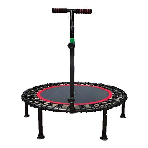 40-inch mini trampoline Indoor fitness trampoline met armleuningen Kind en volwassen trampoline Maximale belasting 150 kg
