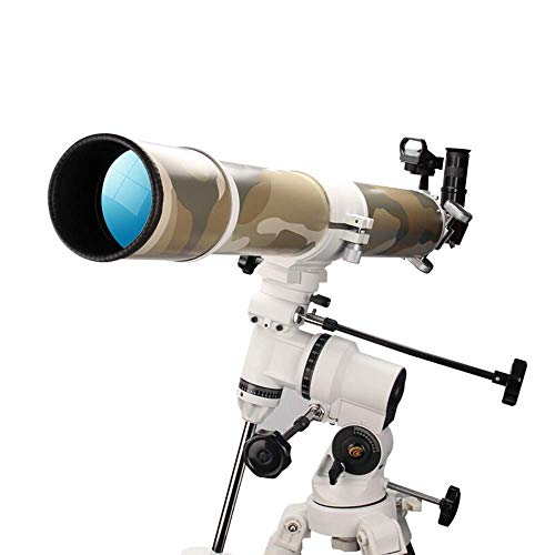 Telescopio astronómico Entrada Profesional Alta finición Observación Estrellas Observando el Mundo Telescopio Doble Uso Binocular multifunción Principiantes Aficionados