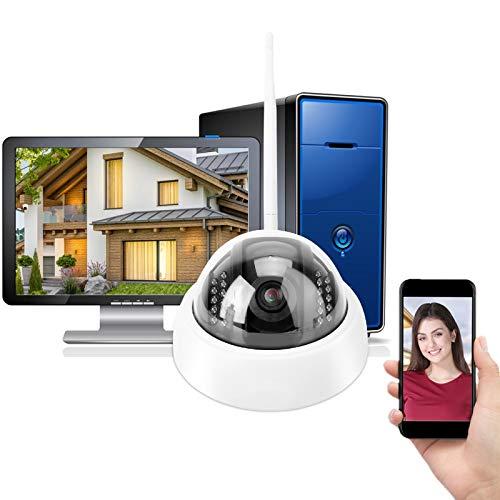 Cámara IP de Seguridad Inalámbrica, 960P HD Cámara Wifi Cámara de Infrarrojos...