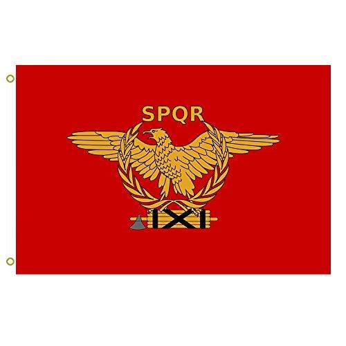 Große Flagge Neue SPQR Flagge Eine Neue SPQR Flagge Outdoor Flagge Flying Flagge 3x 150Banner