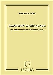 Saxophon\'Marmalade Saxophone Eb-Piano